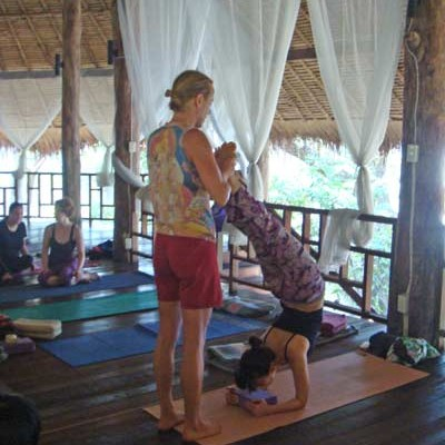 Yoga Training, Thailand