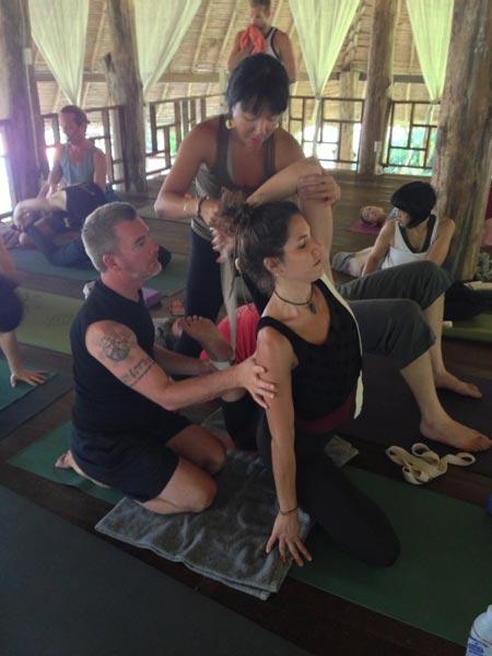 Yoga Immersion 2013, Chiang Mai Thailand
