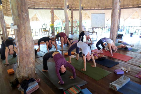 Yoga Immersion 2013, Chiang Mai Thailand