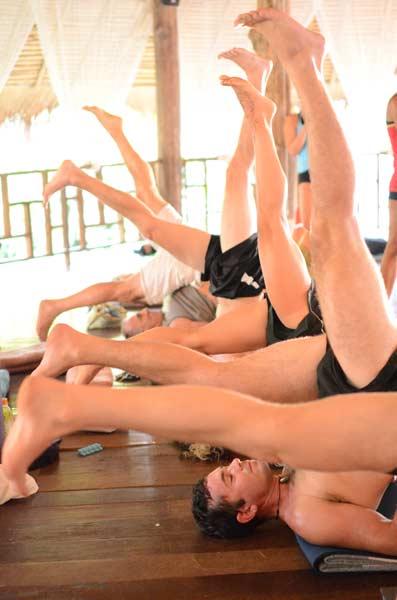 Yoga Training, Thailand